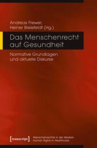 Buchcover: Das Menschenrecht auf Gesundheit